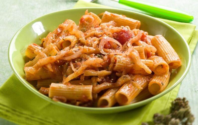 Ricetta Rigatoni Con Melanzane E Pomodorini