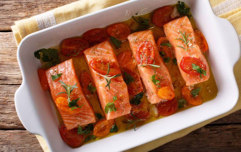 Ricetta Salmone Al Forno Con Cottura A Bassa Temperatura