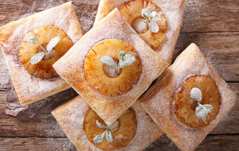 Ricetta Sfogliatine Dolci Con Ananas Caramellato