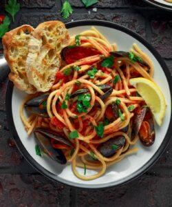 Ricetta Spaghetti Con Le Cozze