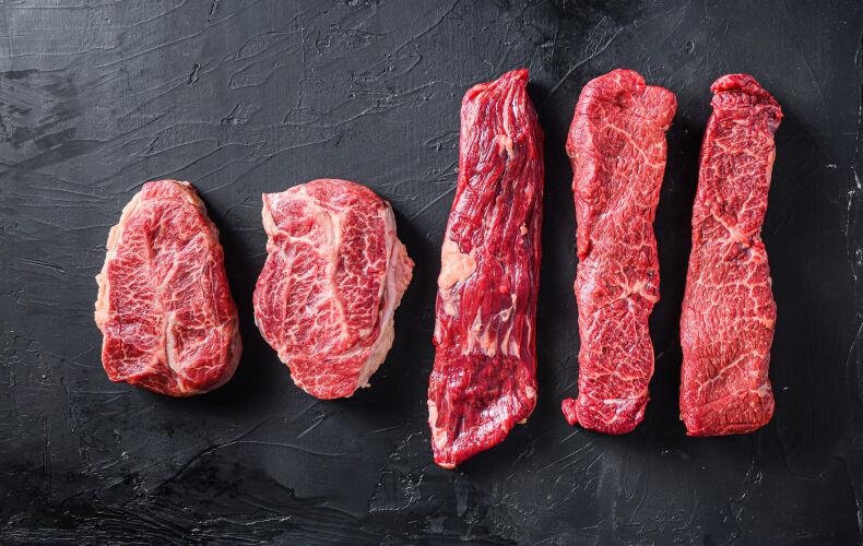 Tagli Classificazione E Cotture Della Carne Rossa