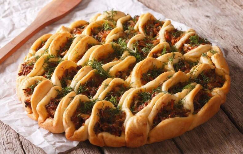 Ricetta Torta Salata Con Carne Pancetta E Pomodori Secchi