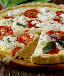 Ricetta Torta Salata Con Pomodori E Caprino