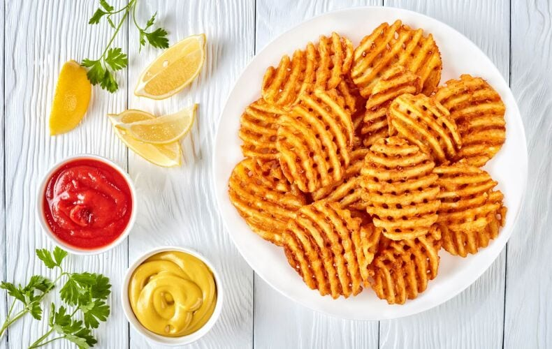Ricetta Waffle Fries