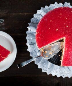 Ricetta Cheesecake Anguria
