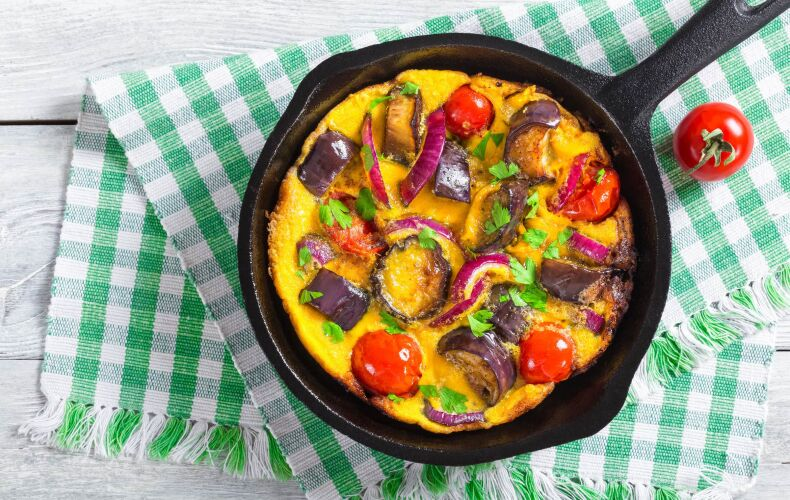 Ricetta Frittata Con Verdure Grigliate