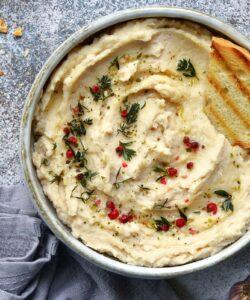 Ricetta Hummus Di Fagioli Bianchi