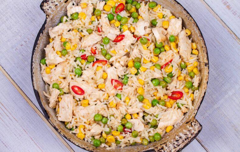 Ricetta Insalata Di Riso Con Pollo E Mais