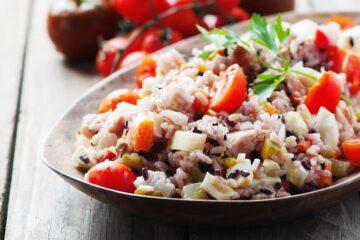 Ricetta Insalata Di Riso Con Tonno Uova E Pomodorini