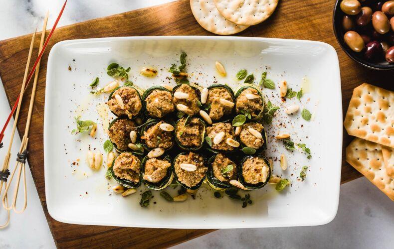 Ricetta Involtini Di Zucchine Grigliate Con Olive