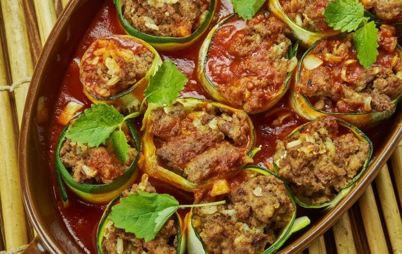 Ricetta Involtini Di Zucchine Ripieni Di Carne