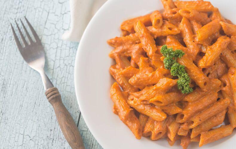 Ricetta Pasta Con Crema Di Peperoni