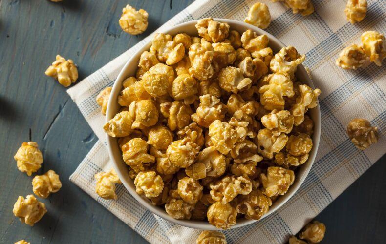 Ricetta Pop Corn Al Caramello