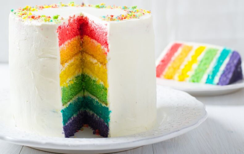 Ricetta Rainbow Cake