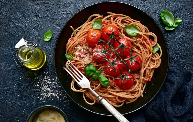 Ricetta Spaghetti Integrali Pomodoro Basilico