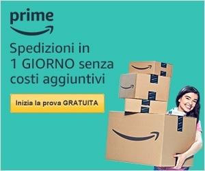 Banner Amazon Prime Prova Gratuita