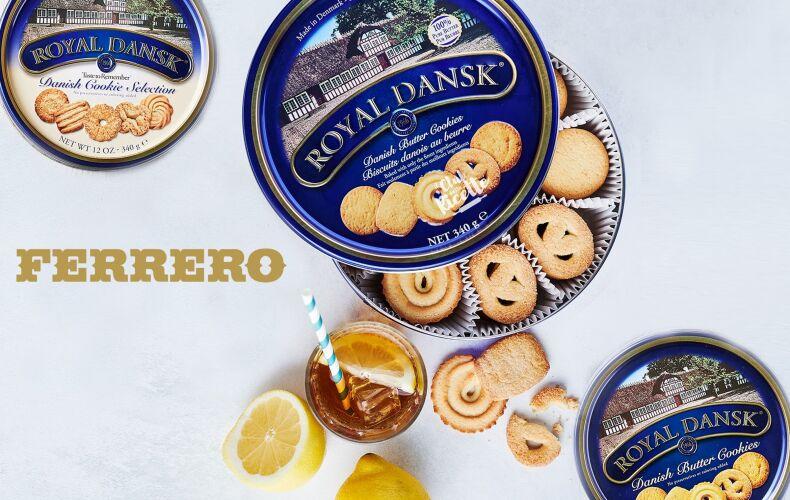 Ferrero Biscotti Danesi