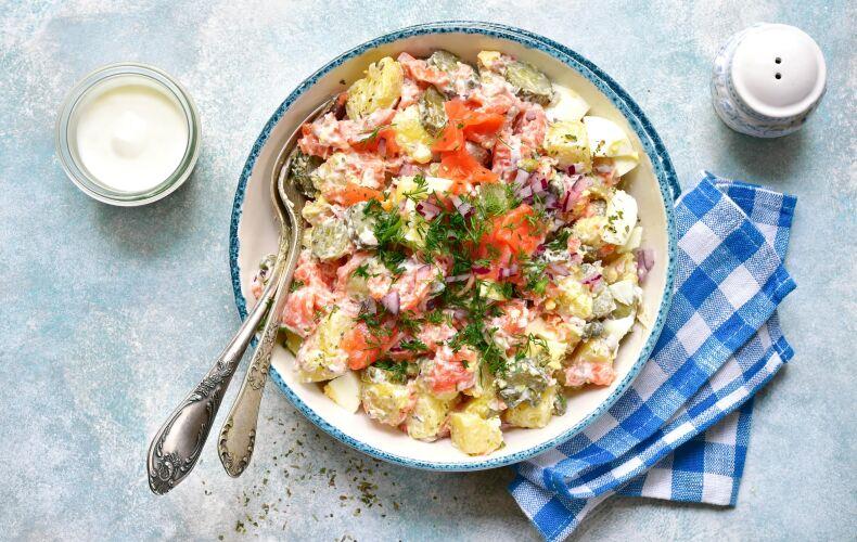 Ricetta Insalata Di Patate E Salmone