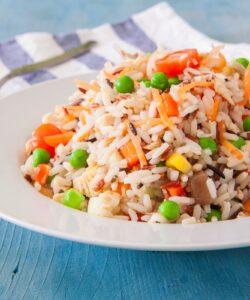 Ricetta Insalata Di Riso Vegetariana