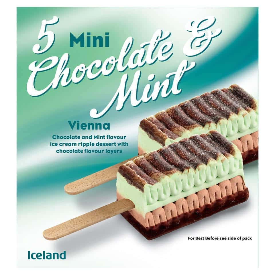 Mini Viennetta Menta Cioccolato