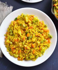 Ricetta Paella Vegetariana Con Verdure