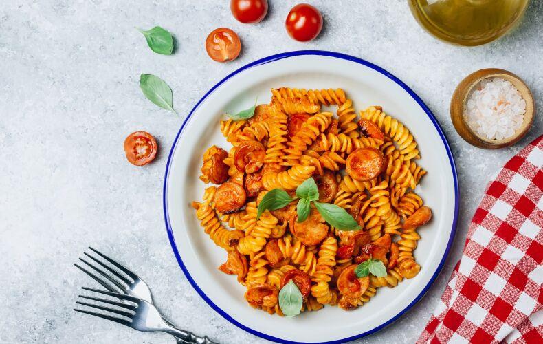 Ricetta Pasta Con I Wurstel