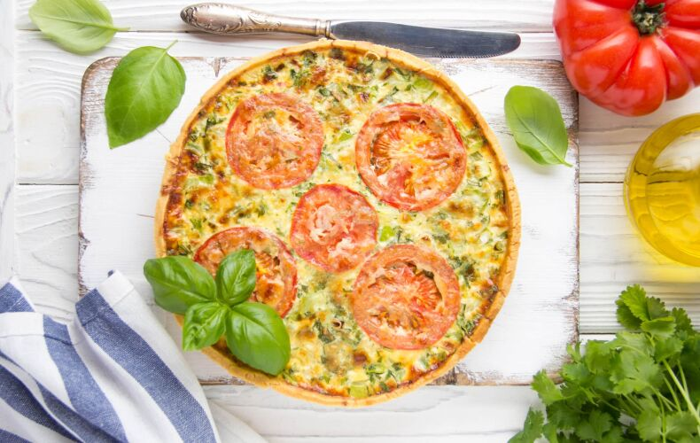 Ricetta Quiche Con Formaggio Pomodori E Zucchine