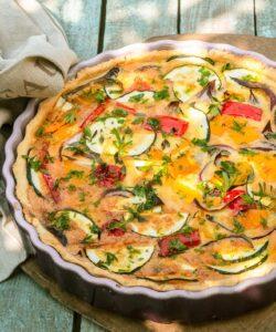 Ricetta Quiche Con Verdure Estive