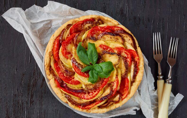 Ricetta Quiche Di Verdure Grigliate