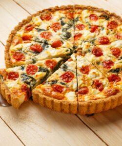 Ricetta Quiche Vegetariana Pomodorini Spinaci E Feta