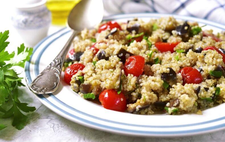 Ricetta Quinoa Con Pomodorini E Melanzane