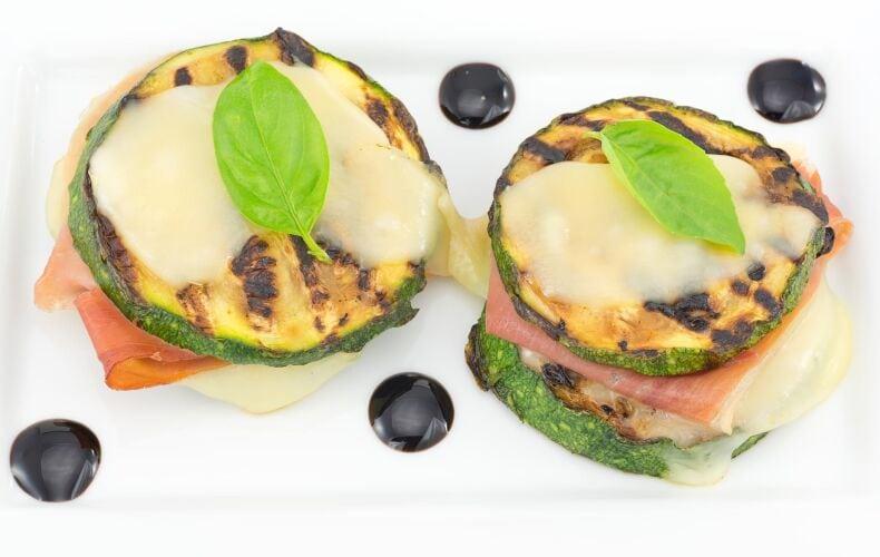 Ricetta Sandwich Zucchine Grigliate Speck E Scamorza