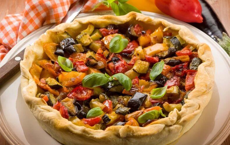 Ricetta Torta Salata Con Verdure Estive
