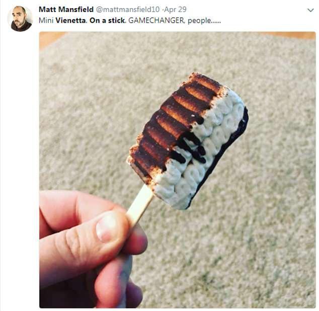 Tweet Mini Viennetta Stecco