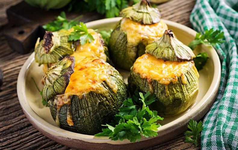 Ricetta Zucchine Tonde Ripiene Di Carne