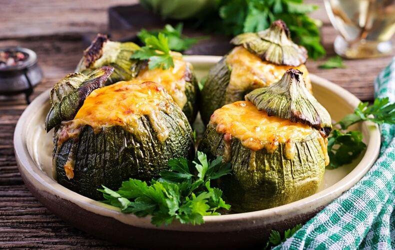 Ricetta Zucchine Ripiene Carne Formaggio