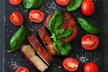 Ricetta Bistecca Di Maiale Con Pomodorini