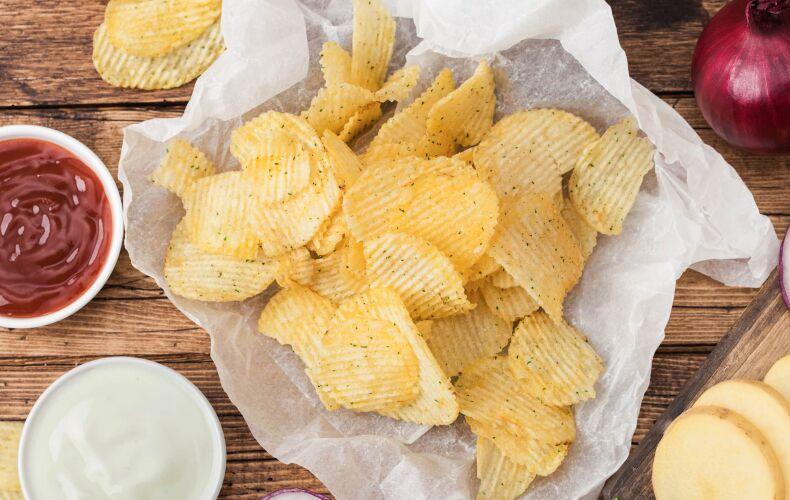 Ricetta Chips Di Patate Fatte In Casa