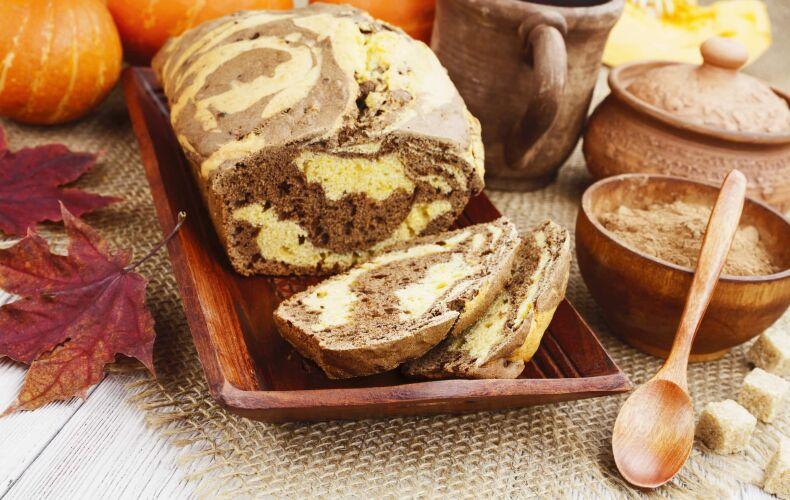 Ricetta Plumcake Variegato Alla Zucca E Cioccolato