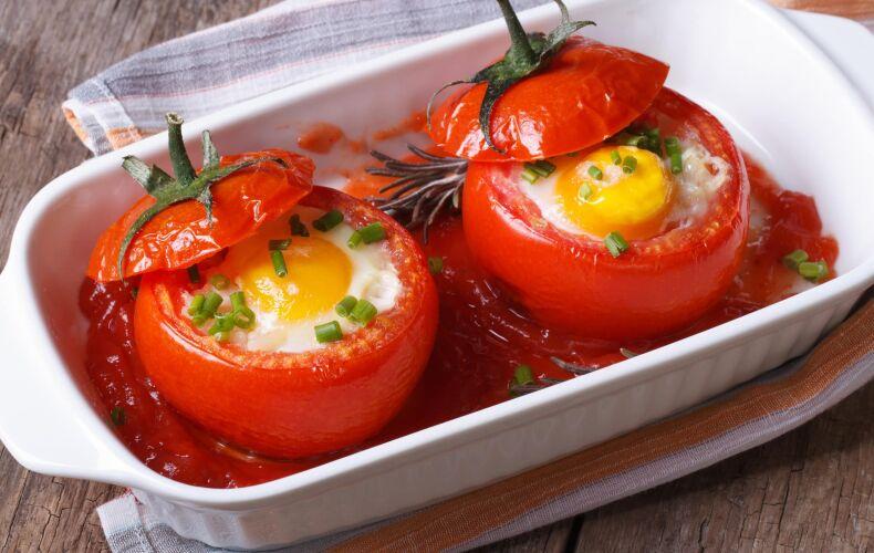 Ricetta Pomodori Ripieni Di Uova
