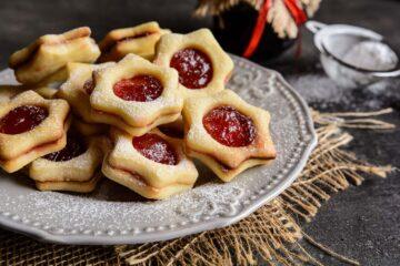 Ricetta Biscotti Linzer