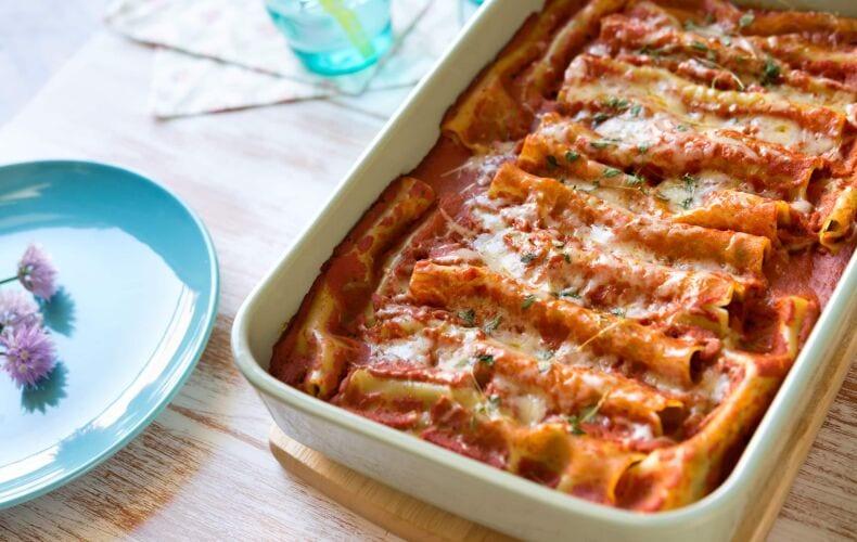 Ricetta Cannelloni Con Carne E Funghi