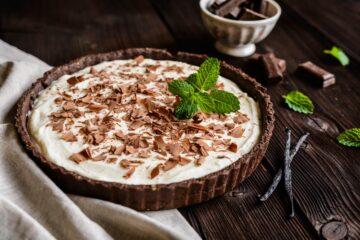 Ricetta Cheesecake Con Crema Al Mascarpone E Cioccolato