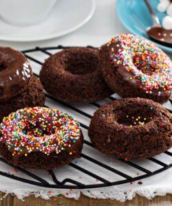 Ricetta Ciambelline Al Cacao Pronte In 10 Minuti