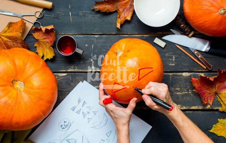 Come Intagliare Una Zucca Per Halloween Decorare
