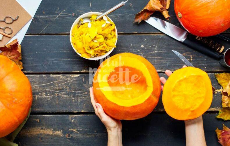Come Intagliare Una Zucca Per Halloween Vuota Asciugare