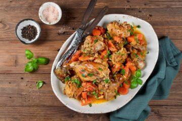 Ricetta Coniglio Con Verdure