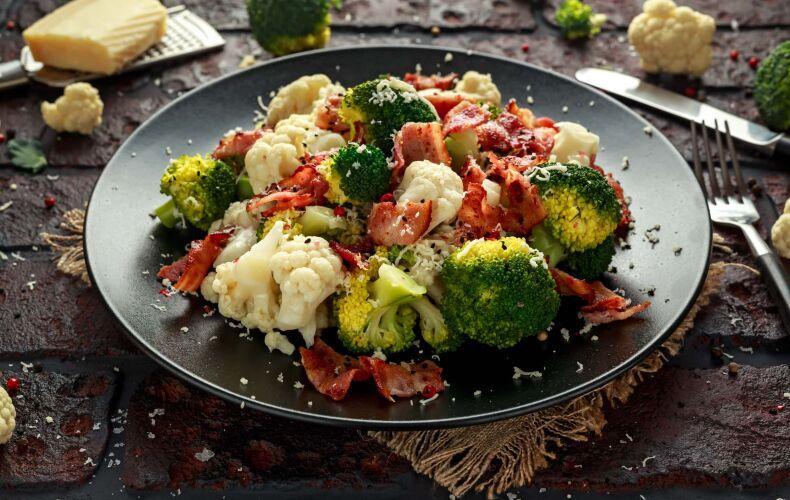 Ricetta Insalata Di Broccoli Cavolfiori Bacon