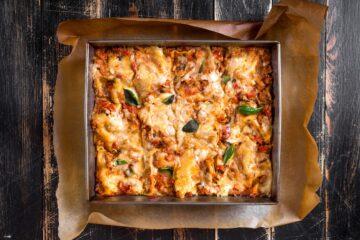 Ricetta Lasagna Autunnale