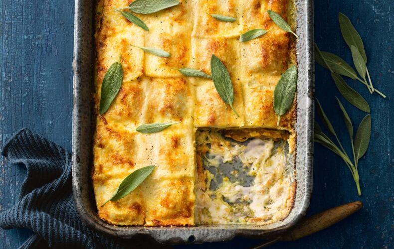 Ricetta Lasagne Alla Zucca
